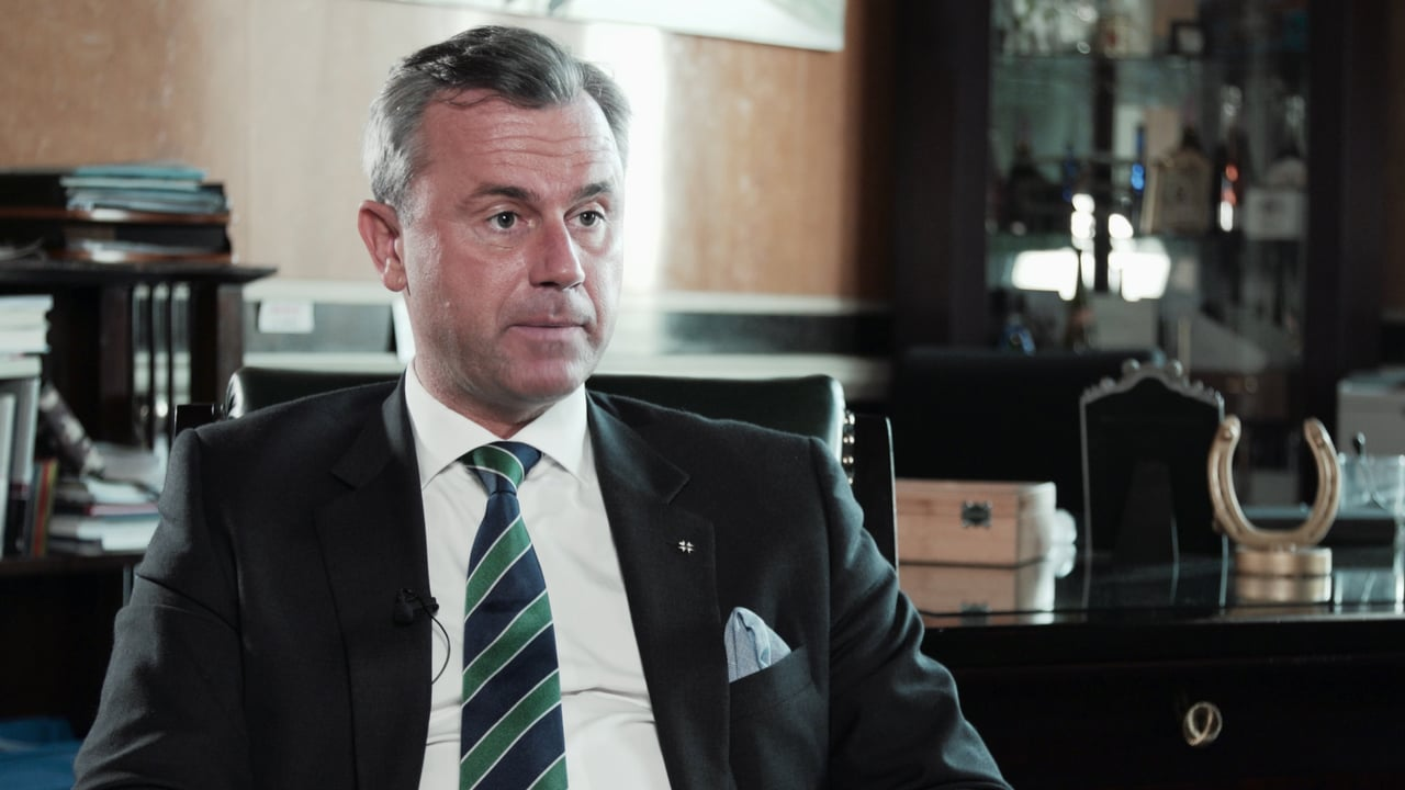 Rise of the Far-Right – BBC Interview with Norbert Hofer, Freedom Party candidate for President in Austria