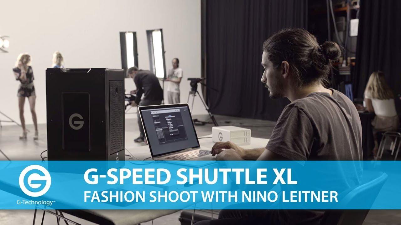 G-Technology G-SPEED Shuttle XL – Fashion Shoot